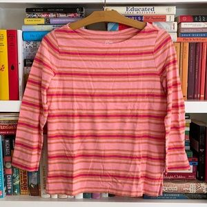 J. Crew Slub Tee Knit Goods Striped T-Shirt